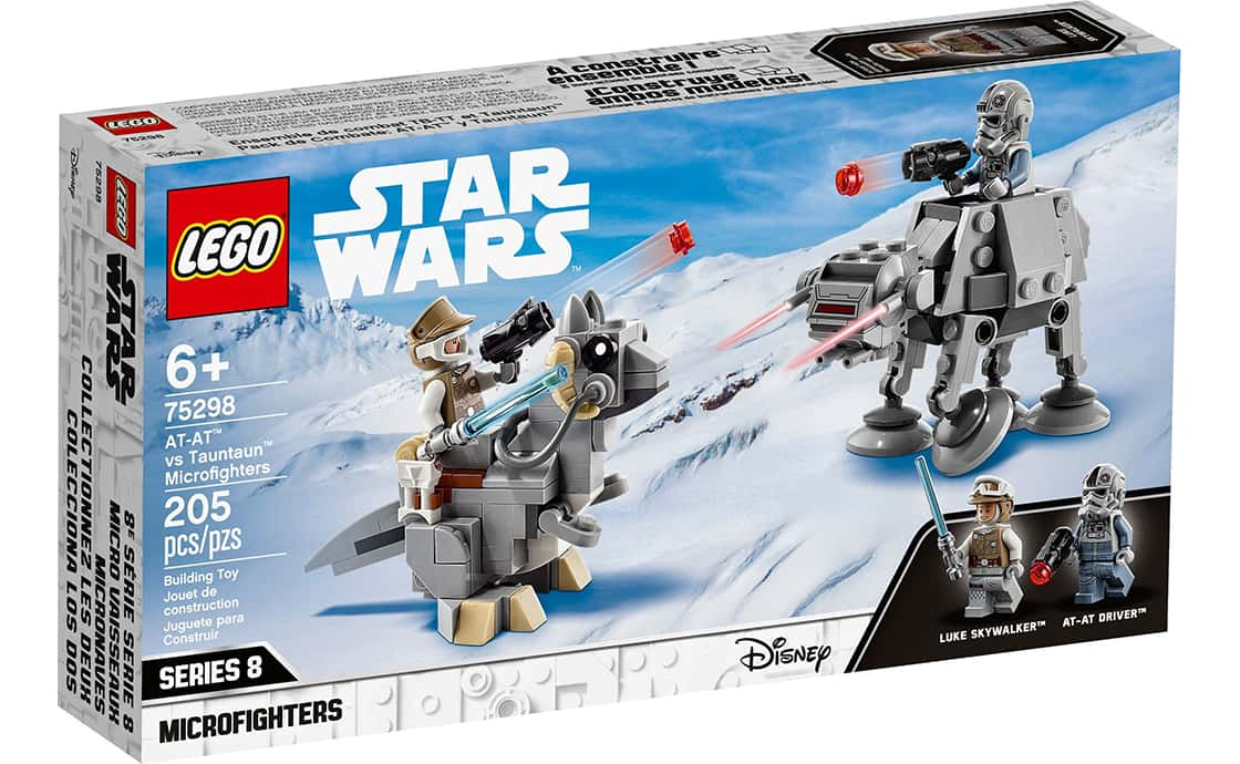 LEGO Star Wars Микрофайтеры: АТ-АТ против тонтона (75298)