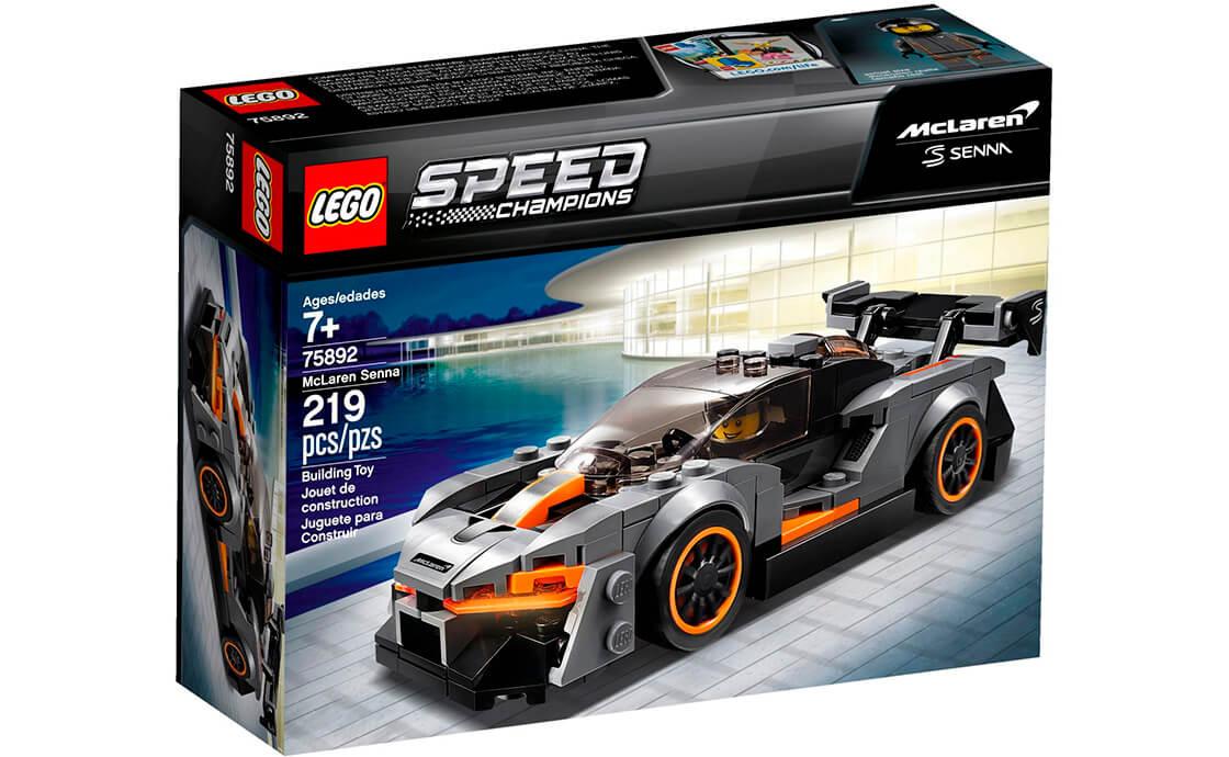 LEGO Speed Champions McLaren Senna (МакЛарен Сенна) (75892)