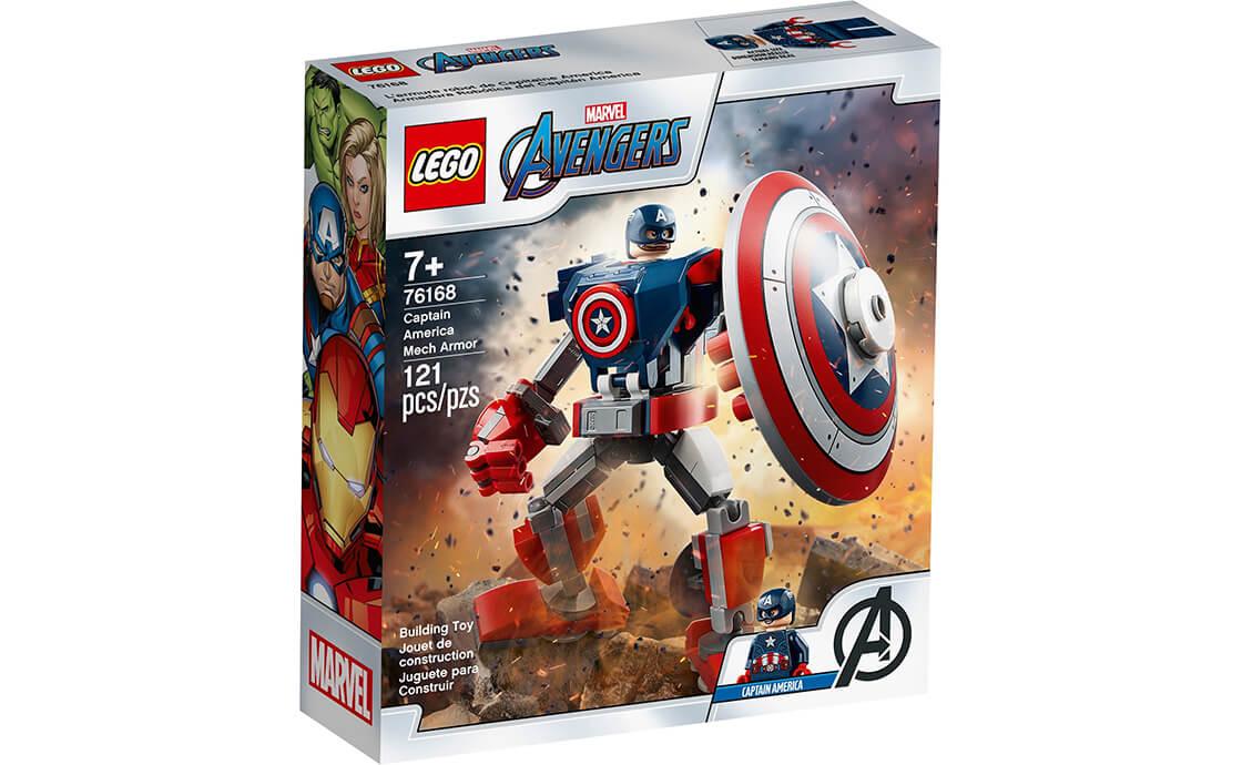 LEGO Super Heroes Робоброня Капітана Америки (76168)