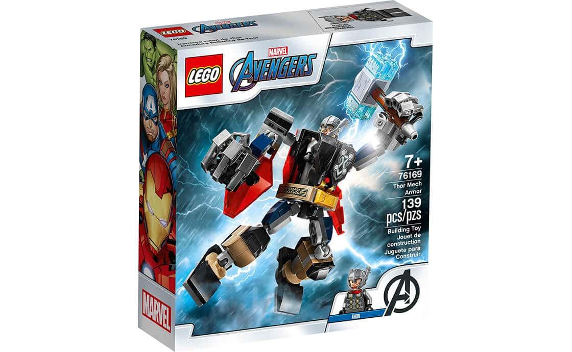 LEGO Super Heroes Робоброня Тора (76169)