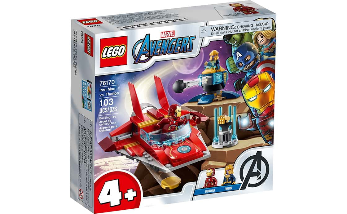 LEGO Super Heroes Железный Человек против Таноса (76170)