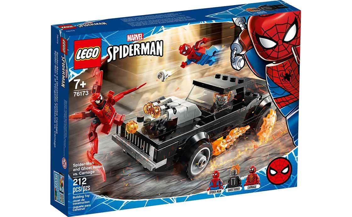 LEGO Super Heroes Людина-Павук і Примарний Вершник проти Карнажа (76173)