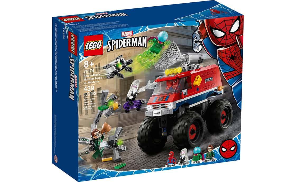 LEGO Super Heroes Монстр-трак Человека-Паука против Мистерио (76174)