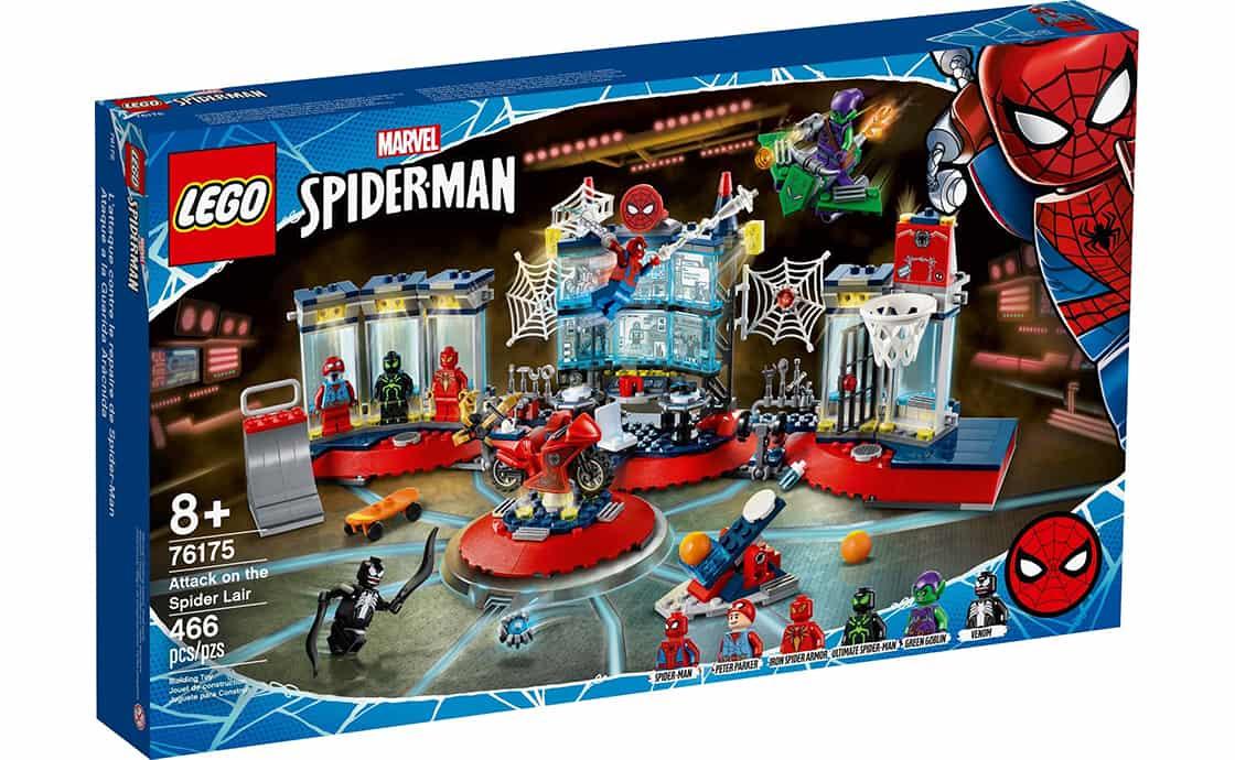 LEGO Super Heroes Нападение на убежище Паука (76175)