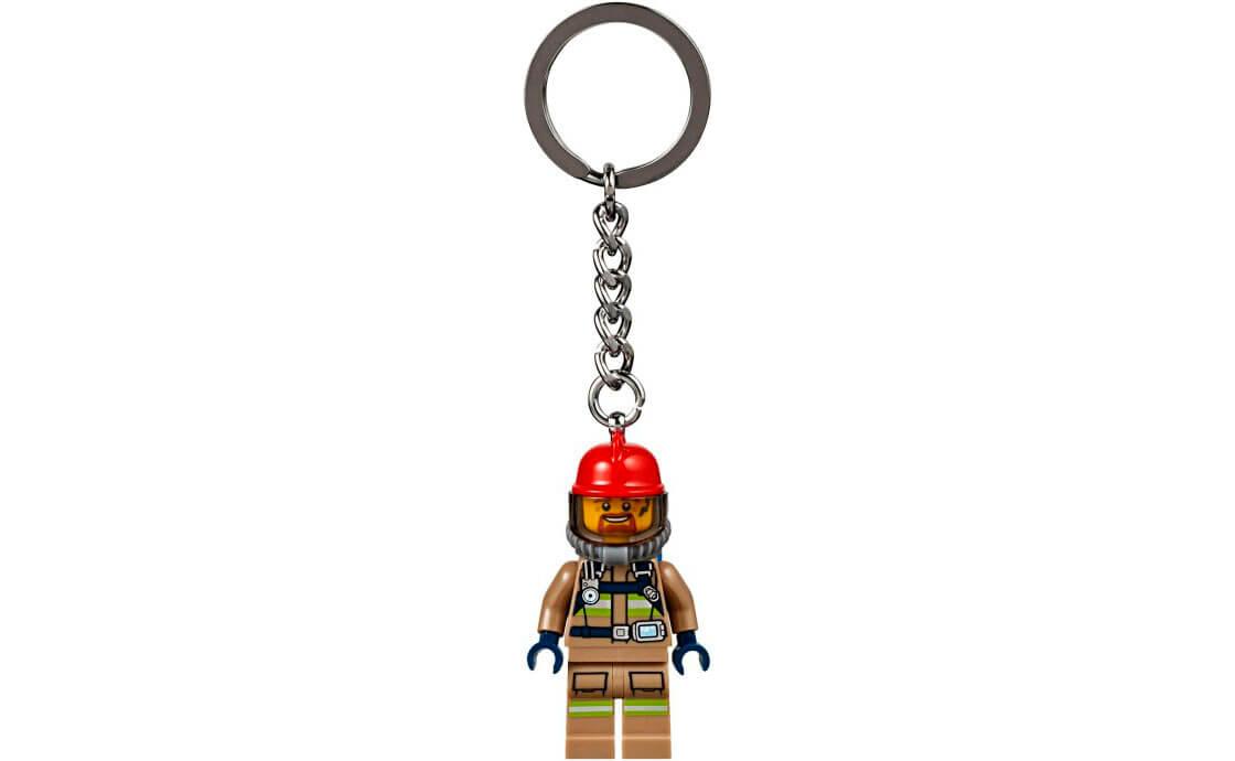 LEGO Accessories Брелок для ключів Пожежник (853918)