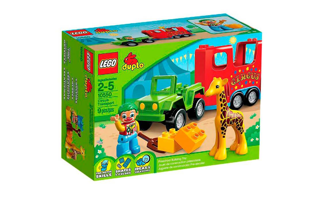 LEGO DUPLO Цирковий транспортувальник (10550)