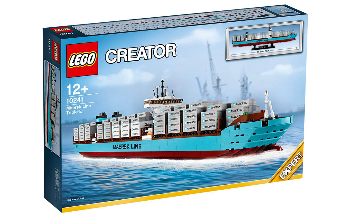 LEGO Exclusive Контейнеровоз MAERSK (10241)