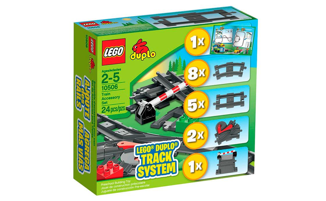 LEGO DUPLO Додаткові елементи для залізниці (10506)