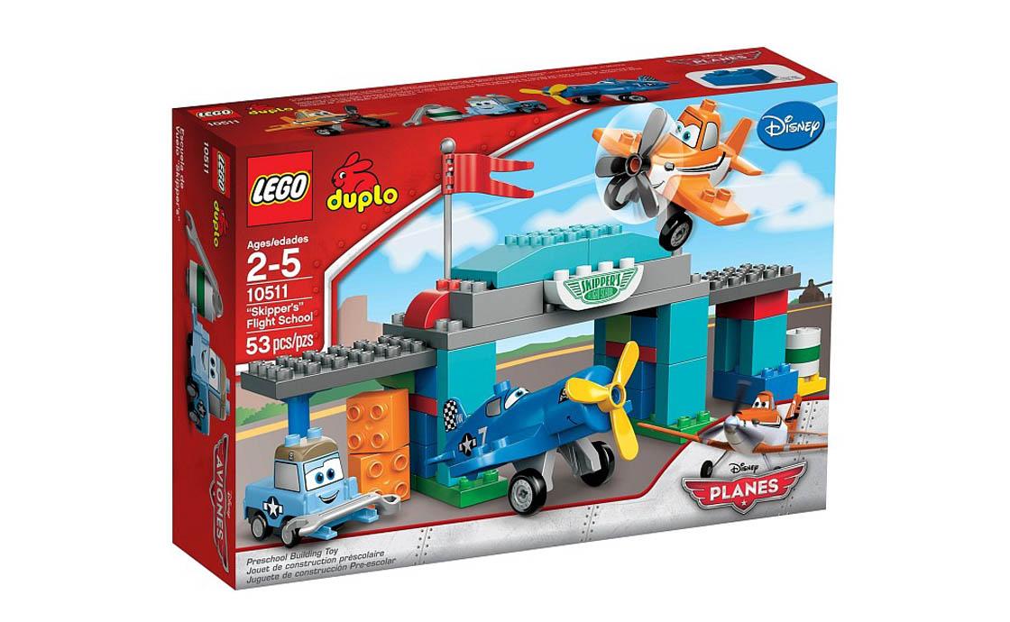 LEGO DUPLO Лётная школа Шкипера (10511)