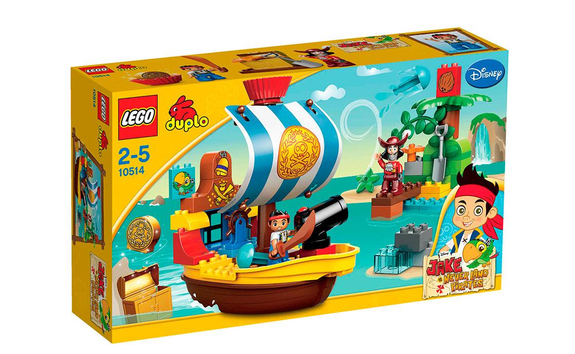 LEGO DUPLO Пиратский корабль Джека (10514)