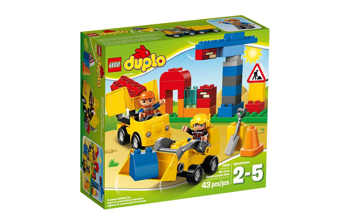 LEGO DUPLO Моя первая стройплощадка (10518)