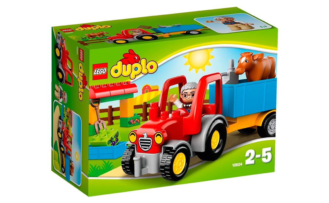 LEGO DUPLO Трактор фермера (10524)