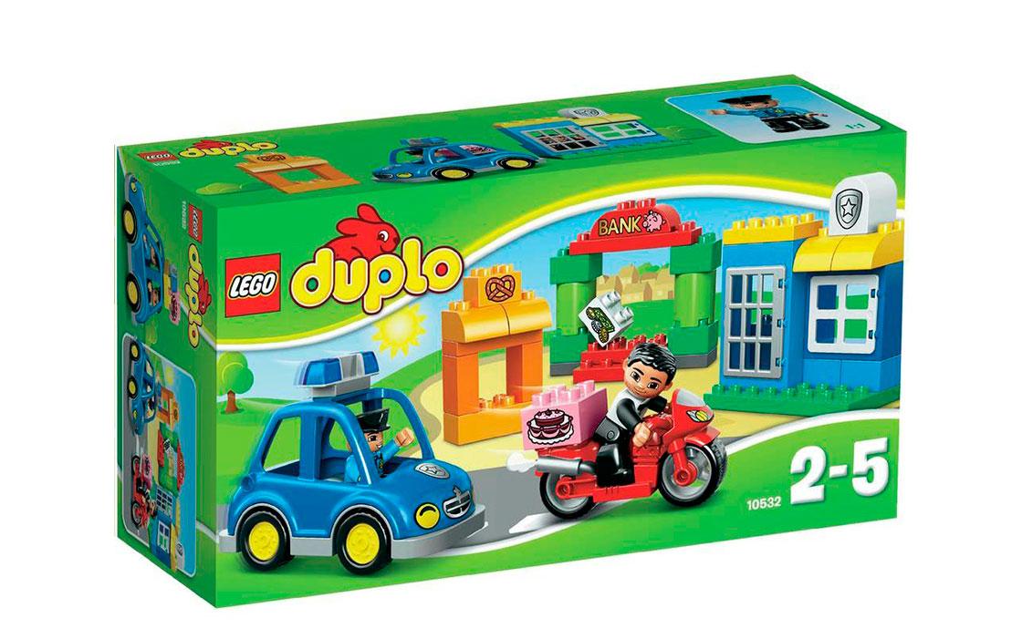 LEGO DUPLO Погоня за воришкой (10532)