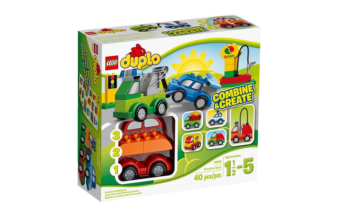 LEGO DUPLO Машинки-трансформеры (10552)