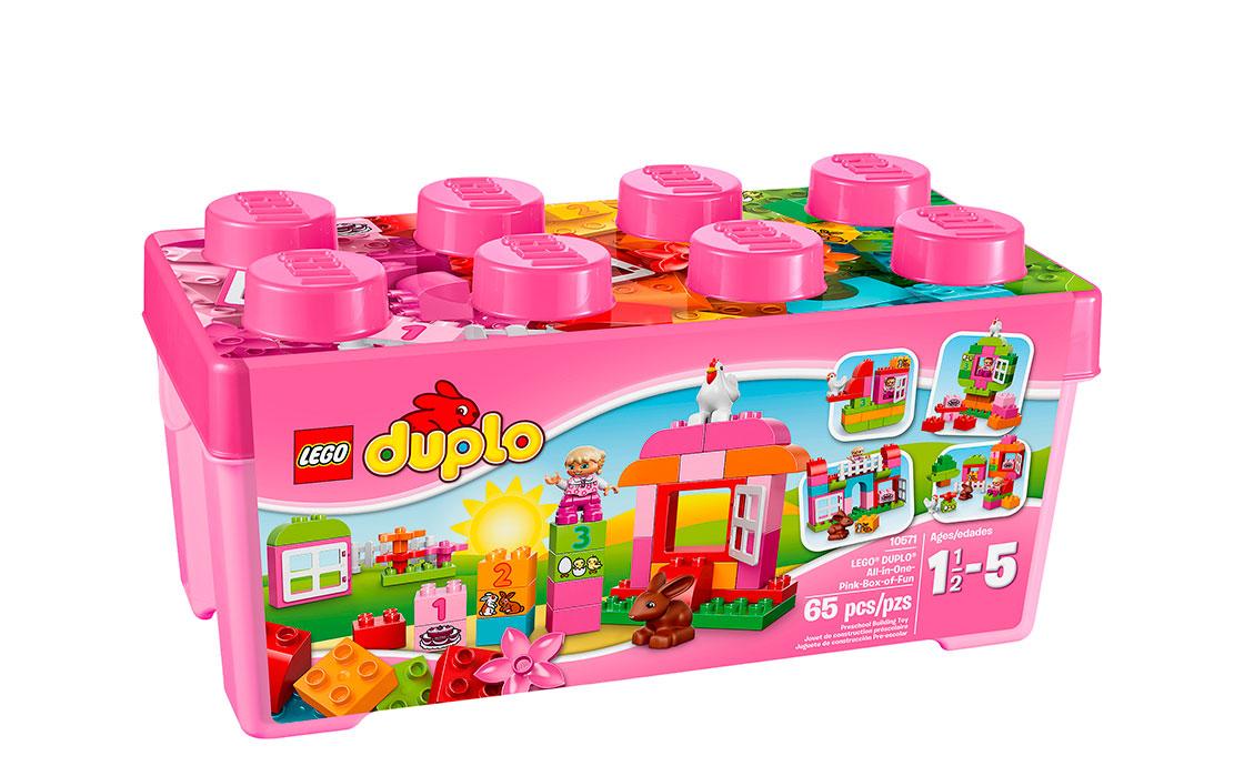 LEGO DUPLO Лучшие друзья: курочка и кролик (10571)