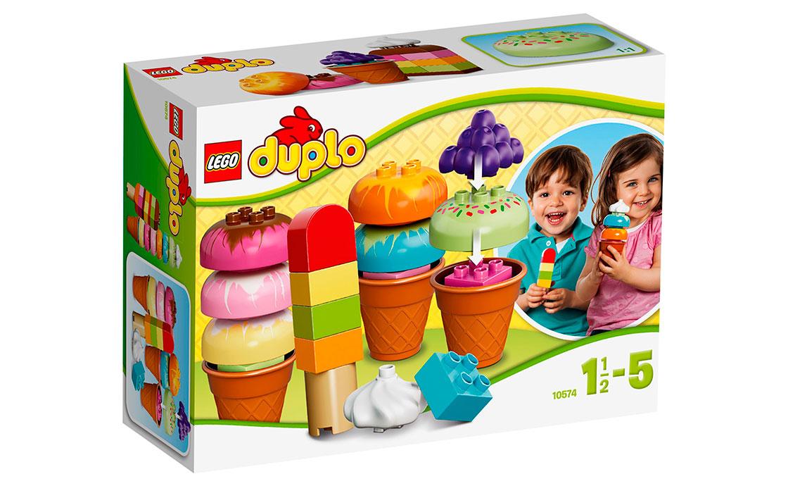 LEGO DUPLO Веселое мороженое (10574)