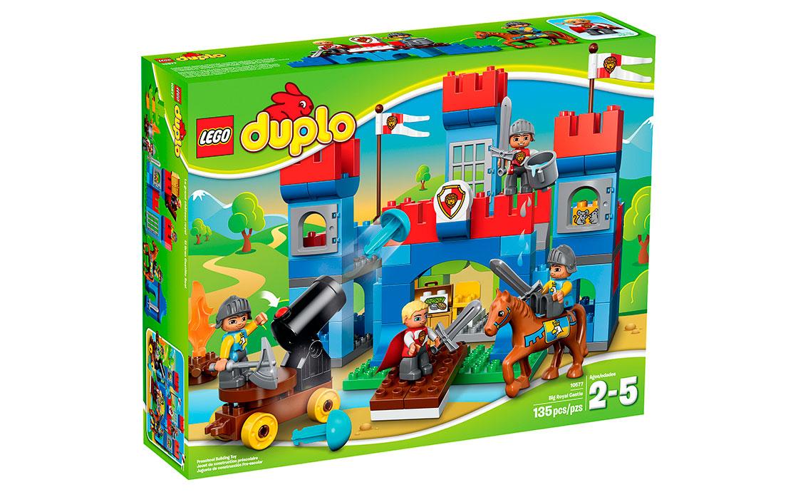 LEGO DUPLO Большой королевский замок (10577)