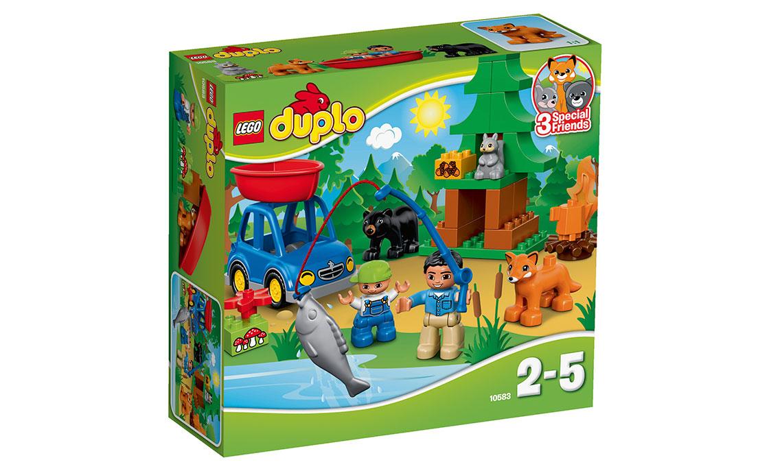 LEGO DUPLO Поездка на рыбалку (10583)