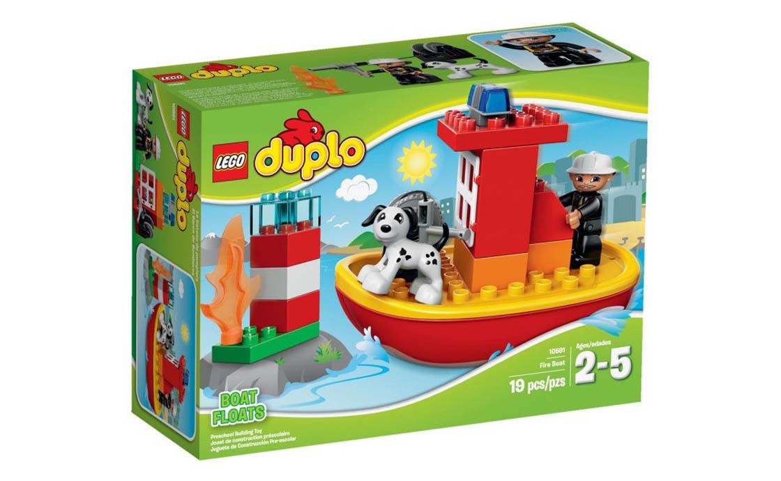 LEGO DUPLO Пожежний човен (10591)