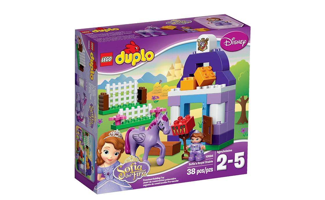 LEGO DUPLO Первая королевская конюшня Софии (10594)
