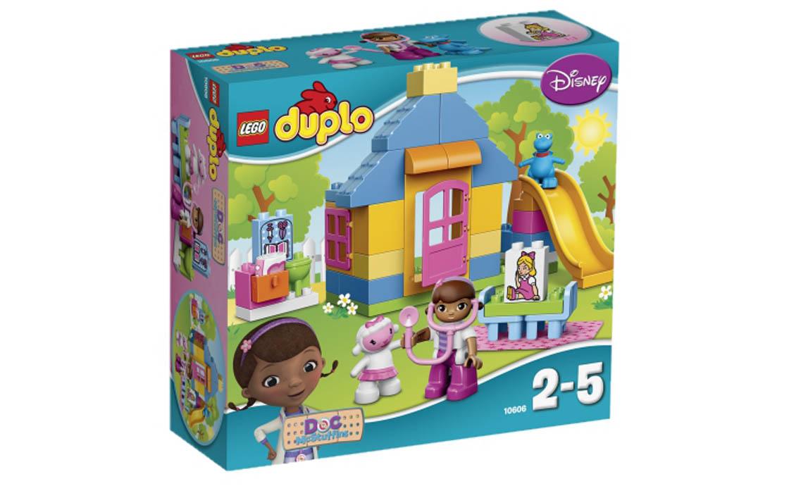 LEGO DUPLO Доктор Розі: Клініка на подвір'ї (10606)