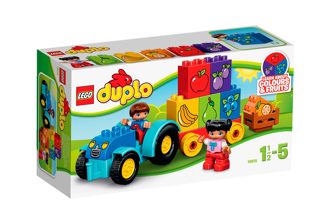LEGO DUPLO Мой первый трактор (10615)