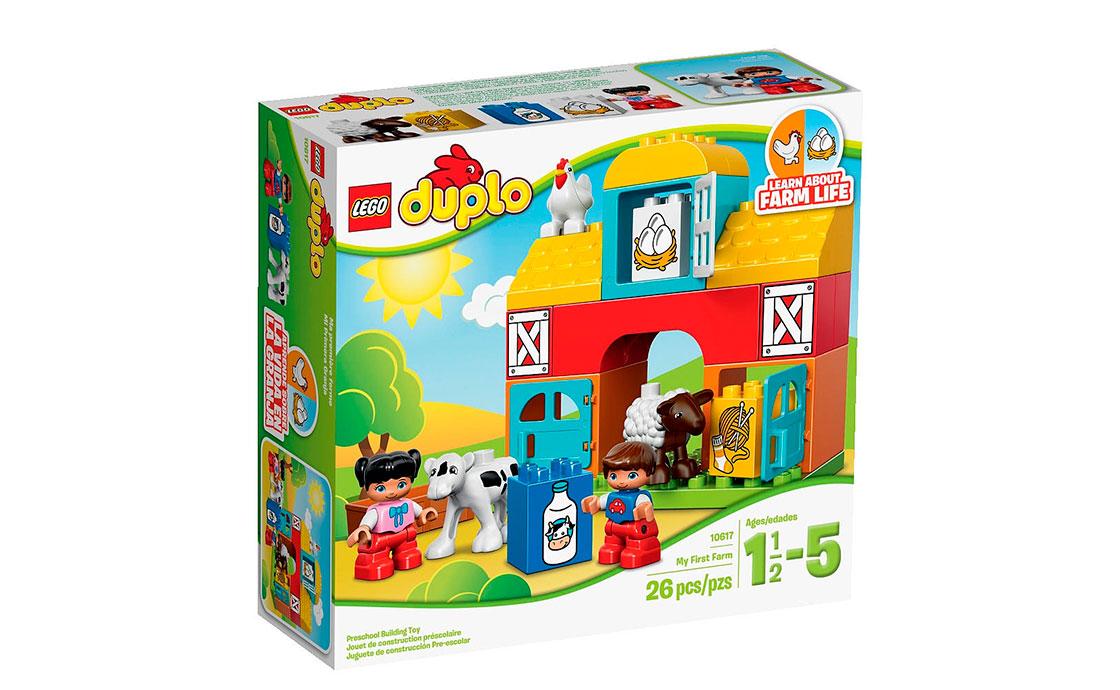 LEGO DUPLO Моя перша ферма (10617)