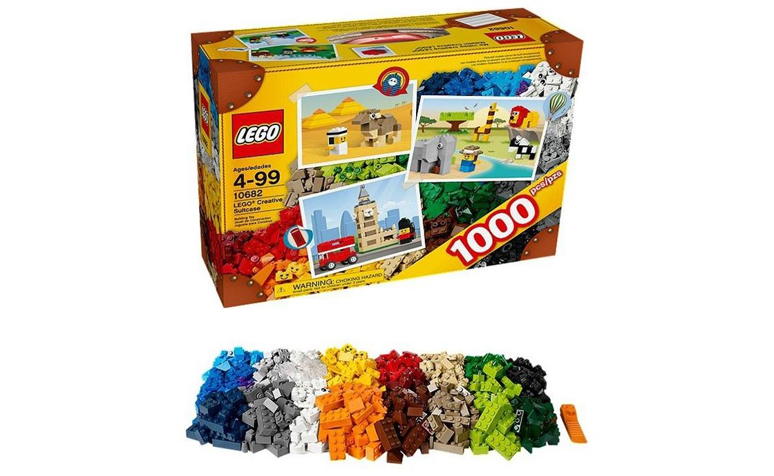 LEGO Classic Креативный чемодан (10682)