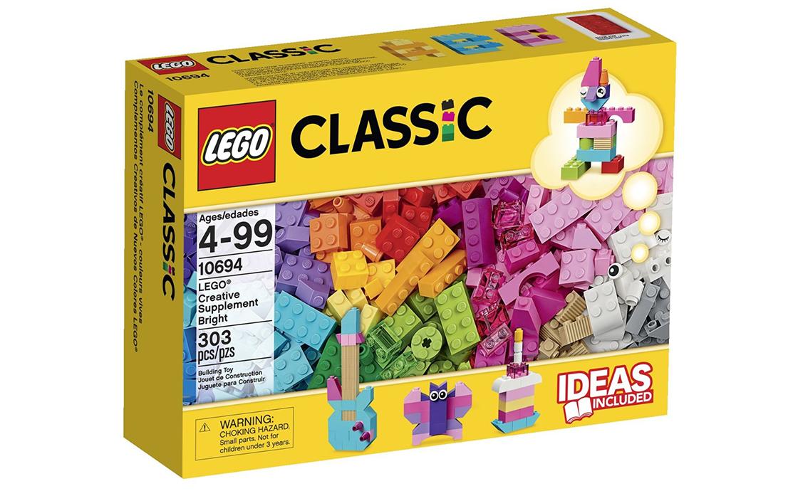 LEGO Classic Креативные дополнения (светлые) (10694)