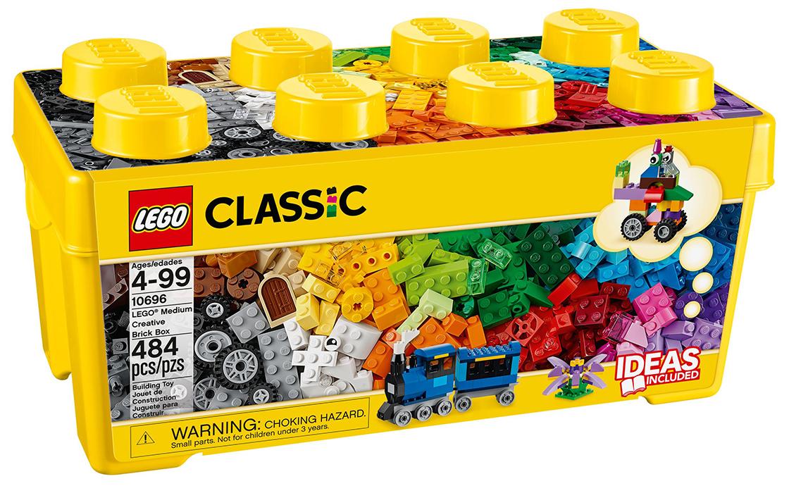 LEGO Classic Середня будівельна коробка (10696)