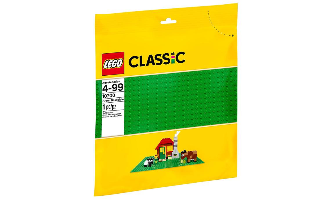 LEGO Classic Зелёная базовая пластина (10700)
