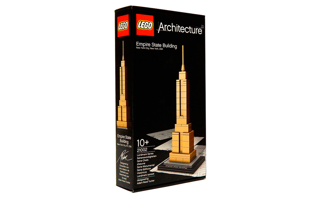 LEGO Architecture Эмпайр-стейт-билдинг (21002)
