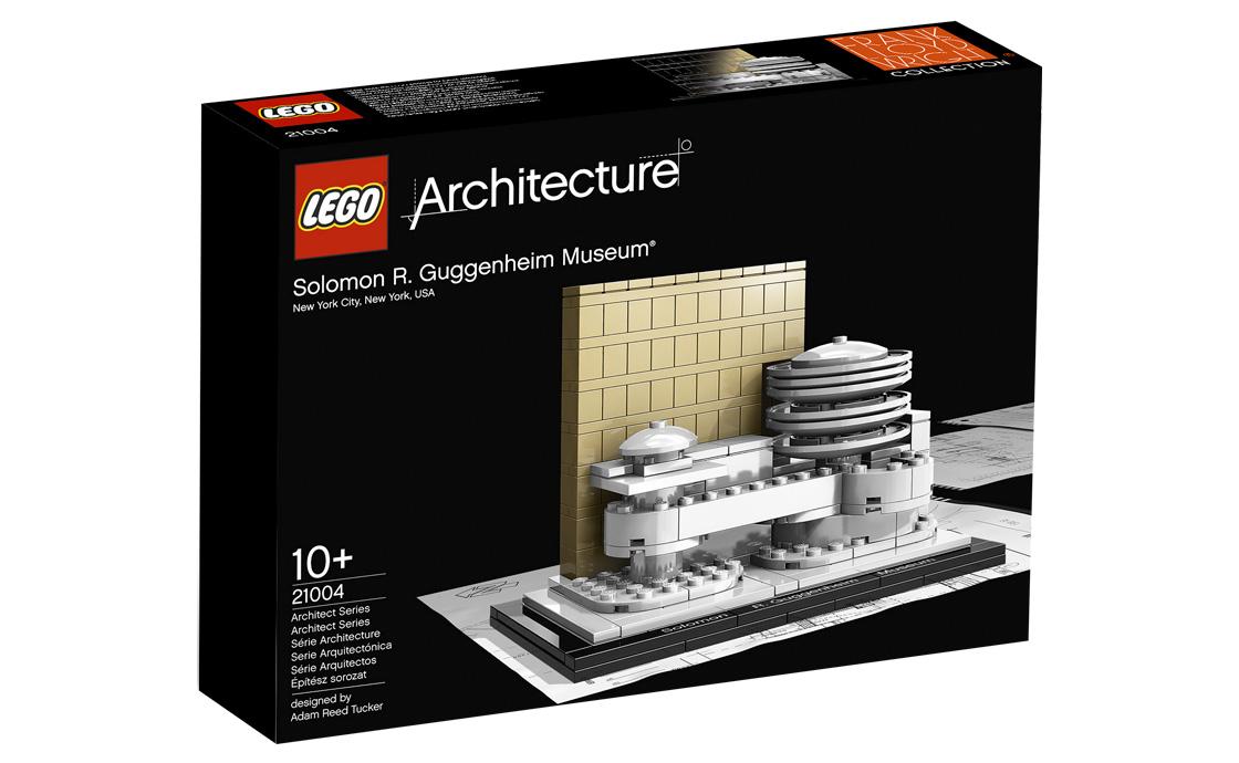 LEGO Architecture Музей Соломона Гуггенхайма (21004)