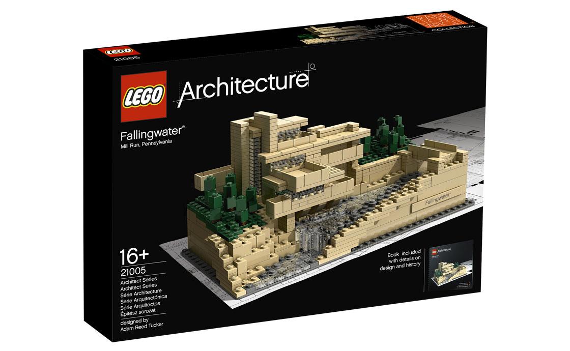LEGO Architecture Дом над водопадом (21005)