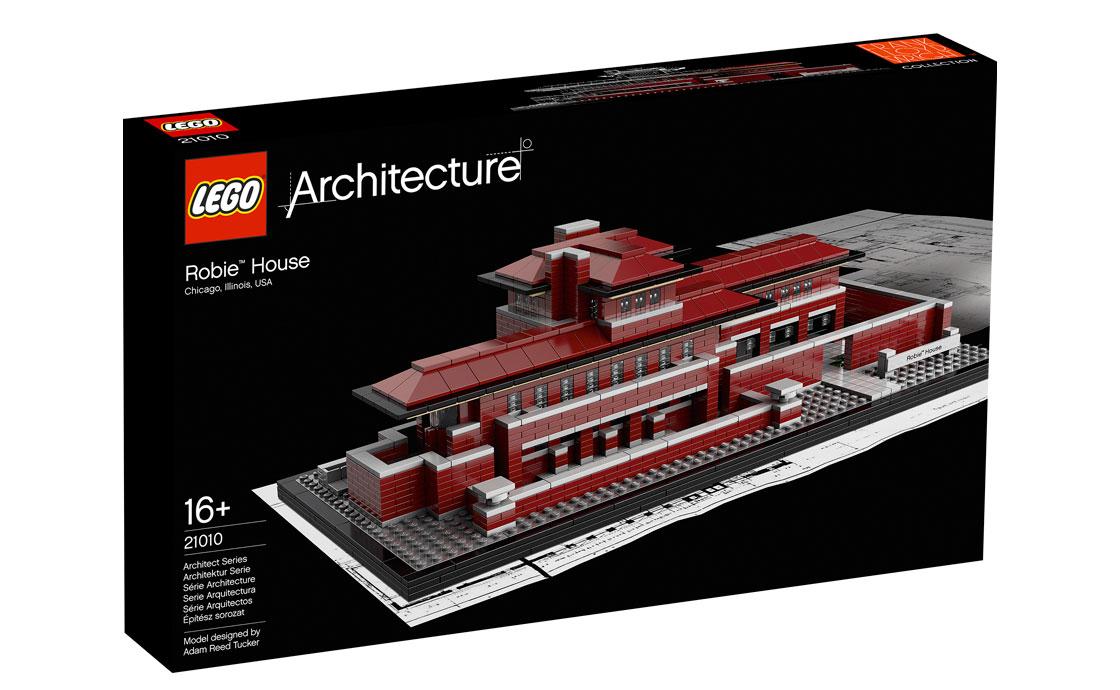 LEGO Architecture Роби хауз (21010)