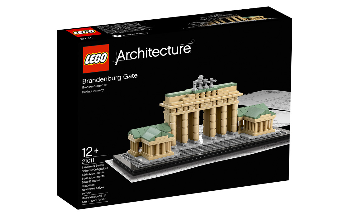 LEGO Architecture Бранденбургские ворота (21011)