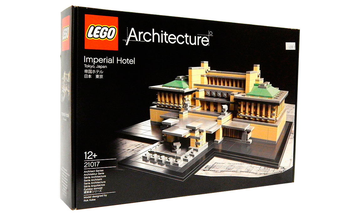 LEGO Architecture Императорский Отель (21017)