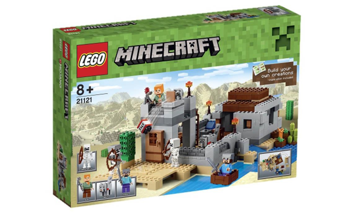LEGO Minecraft Пустинна застава (21121)