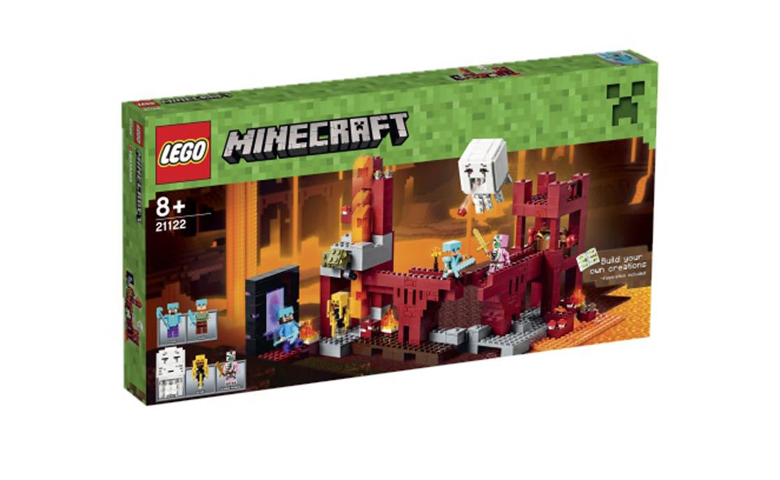 LEGO Minecraft Фортеця нижнього світу (21122)
