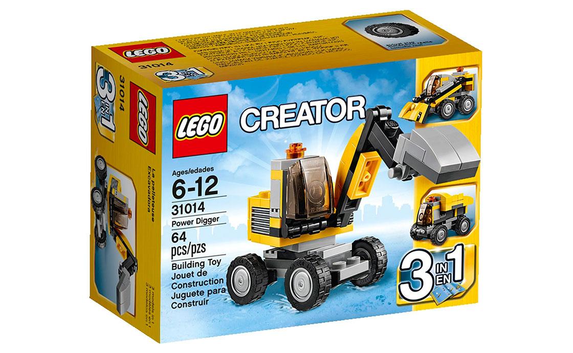 LEGO Creator Мощный Экскаватор (31014)