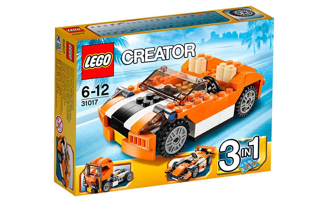 """LEGO Creator Скоростной автомобиль """"Сансет"""" (31017)"""