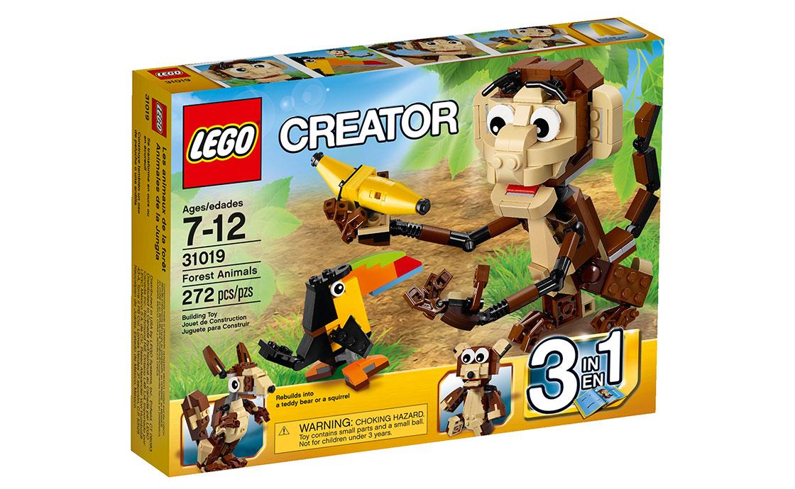 LEGO Creator Лесные Животные (31019)