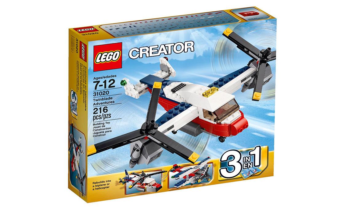 LEGO Creator Приключения на конвертоплане (31020)