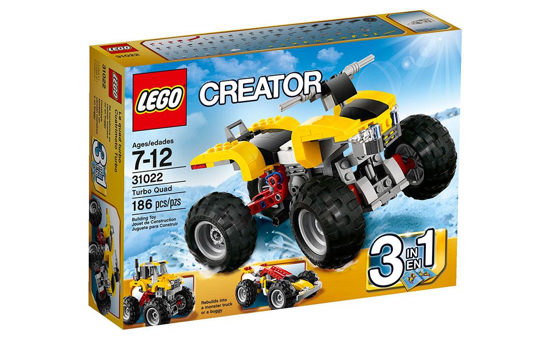 LEGO Creator Турбо Квадроцикл (31022)