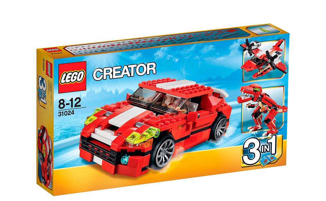 LEGO Creator Ревущая мощь (31024)