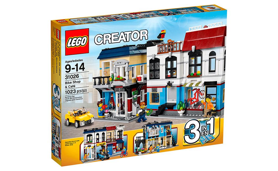 LEGO Creator Веломагазин и кофейня (31026)