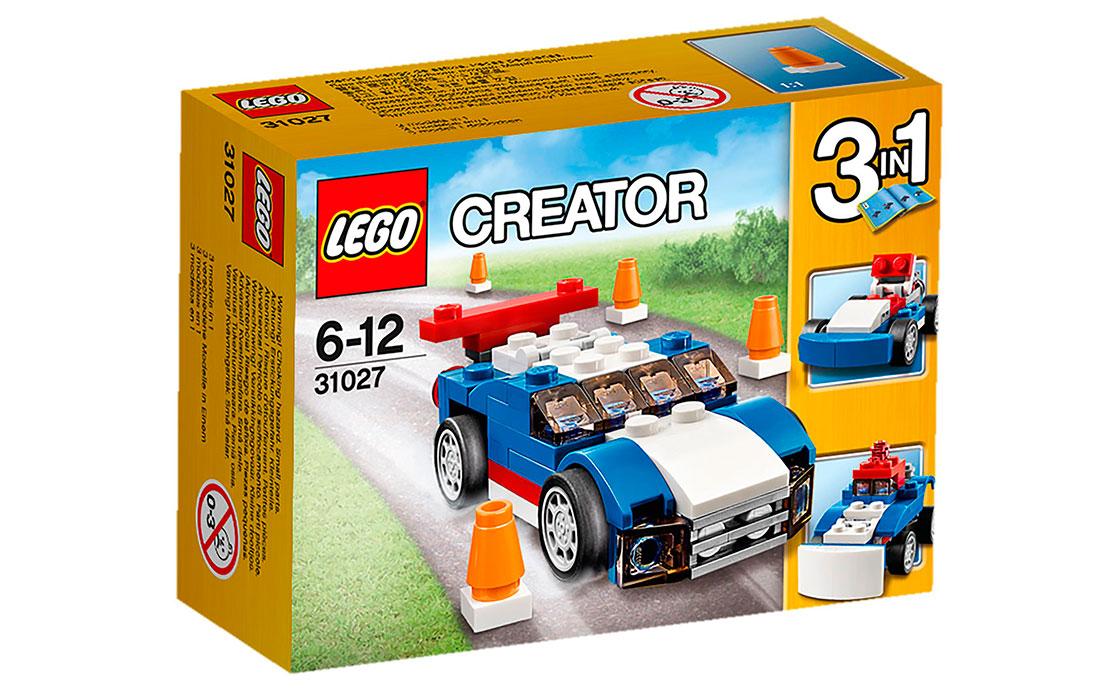 LEGO Creator Синий гонщик (31027)