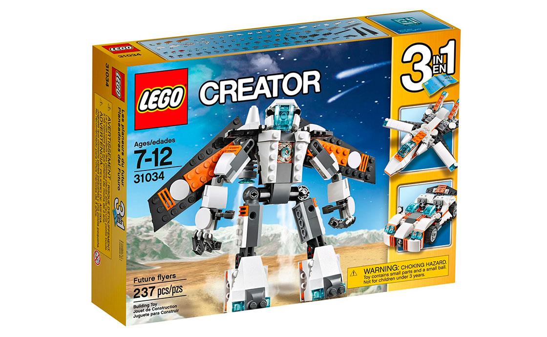LEGO Creator Лётчик будущего (31034)