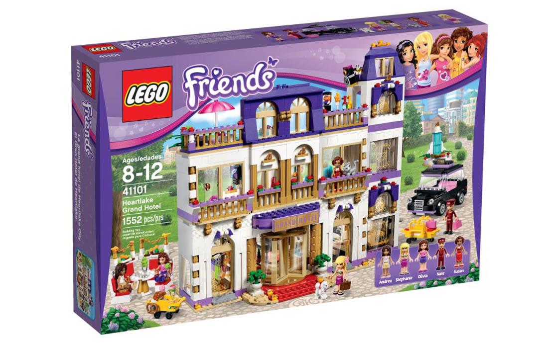 LEGO Friends Гранд отель Хартлейк Сити (41101)
