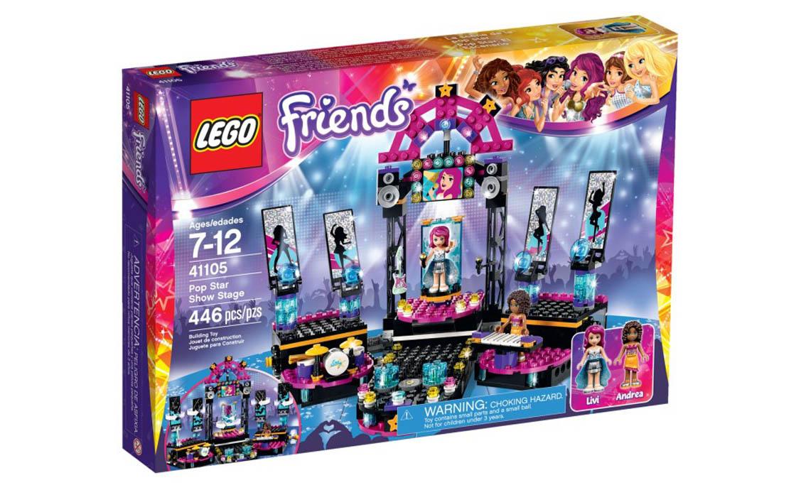 LEGO Friends Поп-звезда на сцене (41105)